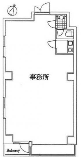 東京エムワイビル:基準階図面