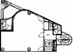 神田槇町トライアングルタワーズビル:基準階図面