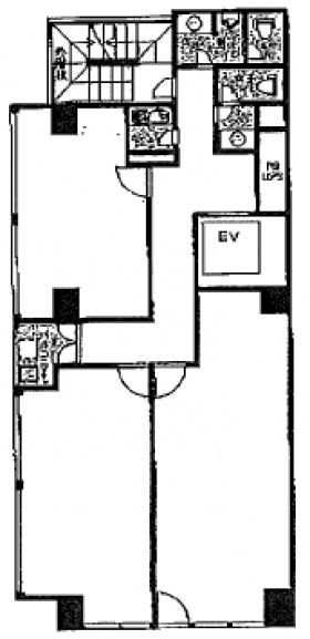 パシフィックビル:基準階図面