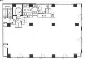 カナレビル:基準階図面