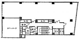 第一麹町ビル:基準階図面