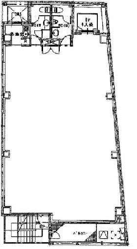 SRビル:基準階図面