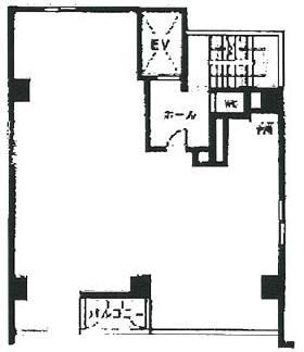 ブロケードビル:基準階図面