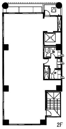 三和九段ビル:基準階図面