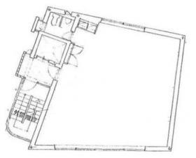 トースイビル:基準階図面