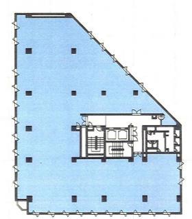 ホーマットホライゾンビル:基準階図面