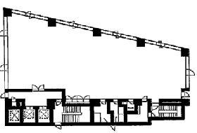 第2紀尾井町ビル:基準階図面