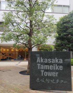 赤坂溜池タワーの内装