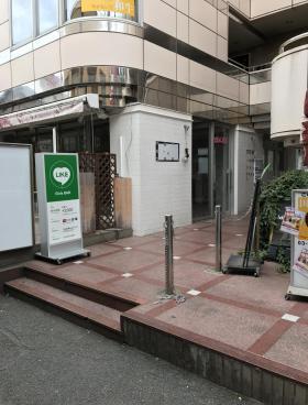 KODAビル幡ヶ谷のエントランス