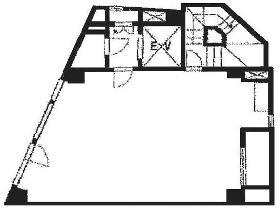 須田町パークビル:基準階図面