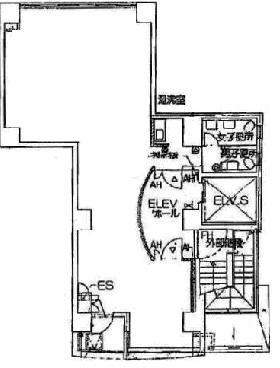 BLA飯田橋(旧千代田アサヒビル):基準階図面