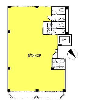 テシコ六番町ビル:基準階図面