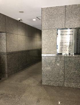 初台共同ビルの内装