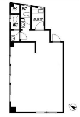 大又建設ビル:基準階図面