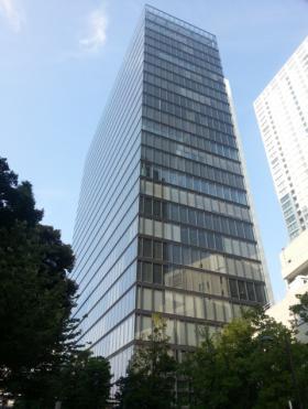 虎ノ門タワーズオフィスのエントランス