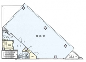 日本橋オリーブビル:基準階図面
