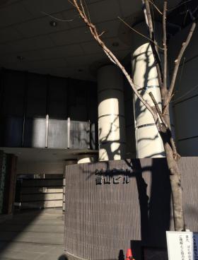 青山(SEIZAN)ビルのエントランス