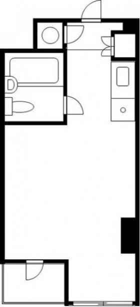 東新橋ビル:基準階図面