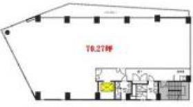 NET1三田ビル:基準階図面