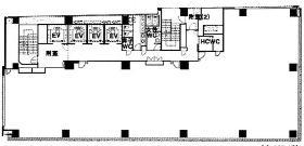 秋葉原センタープレイスビル:基準階図面