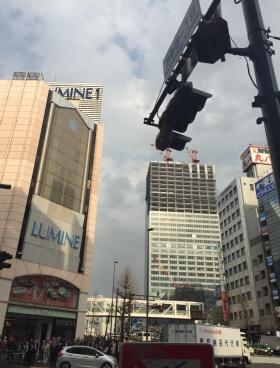 ラウンドクロス西新宿ビルの内装