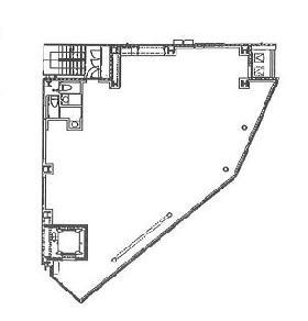 花川戸1丁目ビル:基準階図面
