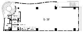 グリーン南平台ビル:基準階図面