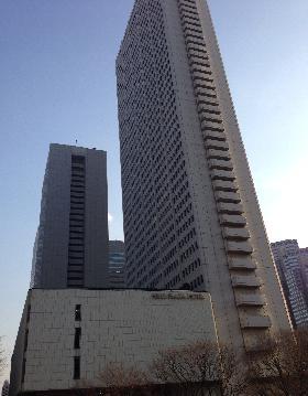 京王プラザホテル南館の外観写真