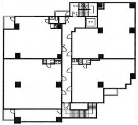 フェルテ中野:基準階図面