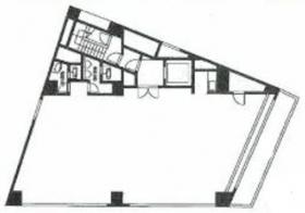 第3都ビル:基準階図面