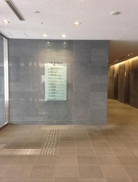 WESTRIO千葉フコク生命ビルの内装