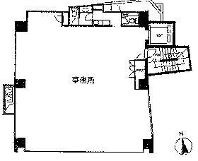 アトム麹町タワービル:基準階図面