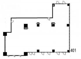 ステーションプラザタワー:基準階図面