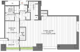 オランダヒルズ森タワーROPビル:基準階図面