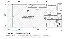 PMO銀座八丁目ビル:基準階図面