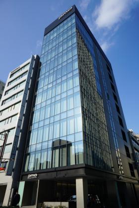 PMO銀座八丁目ビルの外観写真
