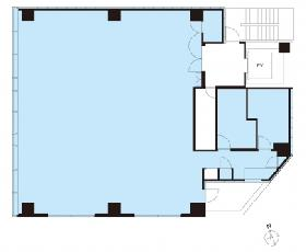 PMO芝大門ビル:基準階図面