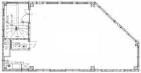 西元ビル:基準階図面