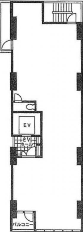 アライヴ人形町:基準階図面
