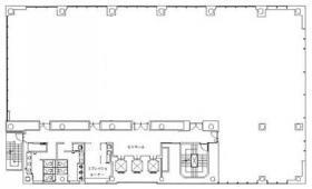 京橋TDビル:基準階図面