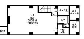 HIDA麹町ビル:基準階図面