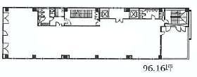 タカラビル:基準階図面
