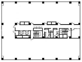 住友生命大宮第2ビル:基準階図面