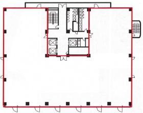板橋本町ビル:基準階図面