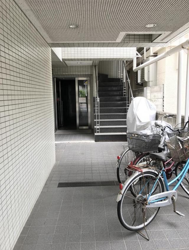 神楽坂藤井ビルの内装