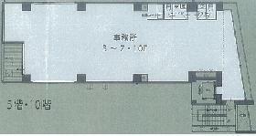 FORECAST四谷(旧VARUCA YOTSUYA)ビル:基準階図面