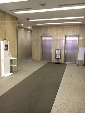 津田沼第一生命ビルの内装