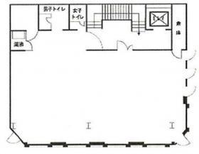 石渡第2ビル:基準階図面
