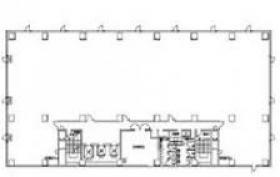 日本生命千葉新町ビル:基準階図面