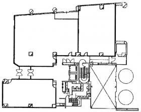 三井生命千葉中央ビル:基準階図面